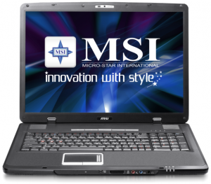 Install Windows XP on MSI EX705